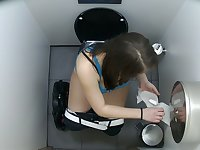 First Hidden Web Camera in Toilets Worldwide