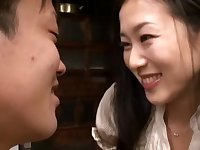 Love Of Mother And Son Starting From Kiss, Adhesion, Thick Sex Kitagawa Mio