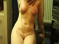 I have tamed my horny slut wife with pussy spanking.