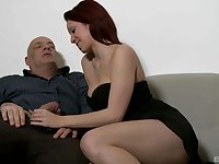 After fingering and amazing blowjob by Natalie Hot everything is better