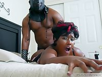 Kinky Session - black MILF BDSM porn video