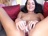 Princess Uses A Toy On Her Juicy Cunt