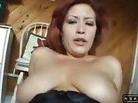 Redhead MILF in a hot POV video