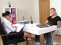 Perfect missionary during a job interview