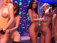 Naked pornstars enjoy licking each other. With Rihana Samuel