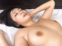 Passionate fucking in the bedroom with shaved cutie Meguru Kosaka