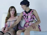 Delia Mandy Bianca Arabelle - Taboo Fantasy Foursome